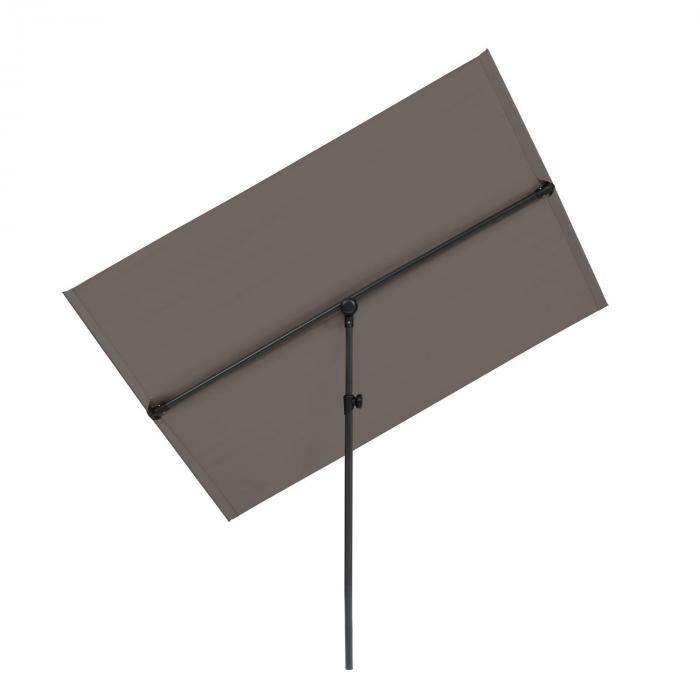 Flex-Shade L -auringonvarjo 130 x 180 cm polyesteri UV 50 tummanharmaa