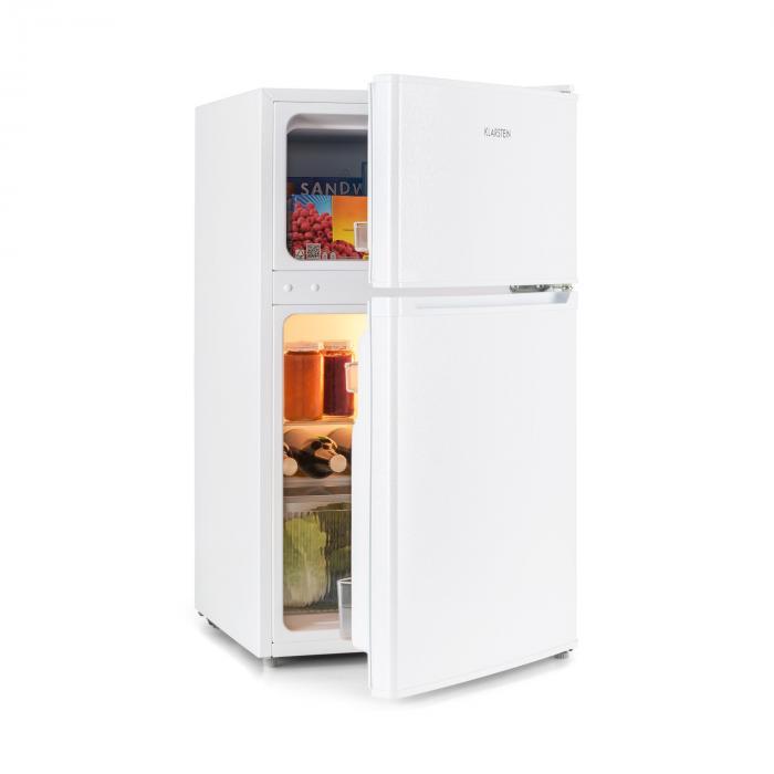 Klarstein Big Daddy Cool, lodówko-zamrażarka, 61/22 l, 42 dB, A+, biała