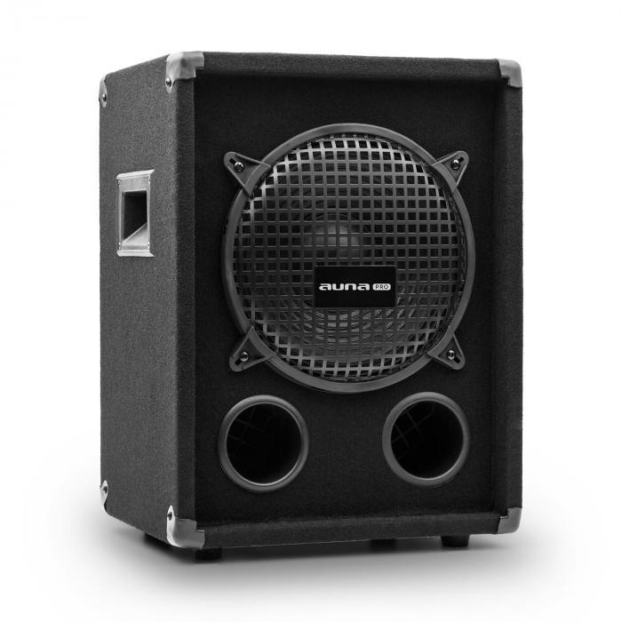Auna Pro PW-1010-SUB MKII, pasywna niskotonowy kolumna nagłośnieniowa, 10-calowy subwoofer, 300 W RMS/ 600 W maks.