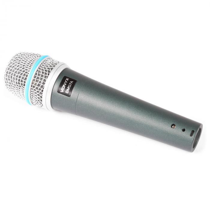 Vonyx DM57A Mikrofon dynamiczny XLR z kablem