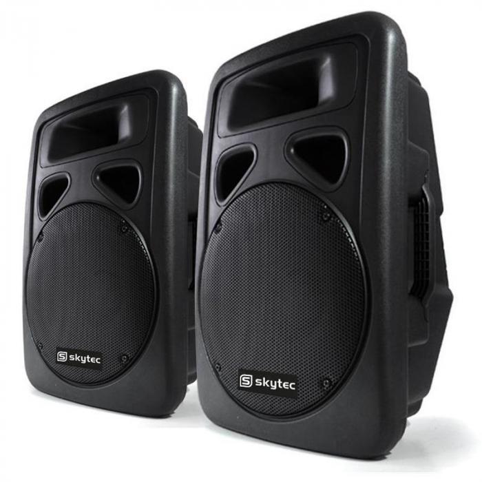 Głośniki firmy Skytec PA38cm kolumna aktywna 2x1500W ABS
