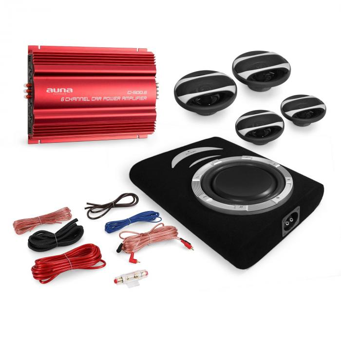 "Set car Hi Fi ""Roma"" 4.1 3000W"