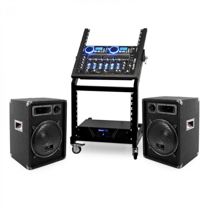 Set DJ PA Rack Star Neptun Palace 250 Persone