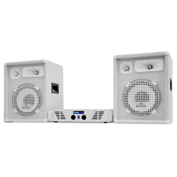 "DJ PA-set White Star Series 'Arctic Storm ""800W"