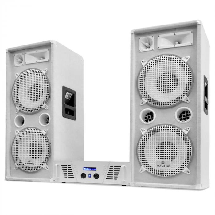 "DJ-PA set White Star serie ""Arctic Ice"" 2000W"
