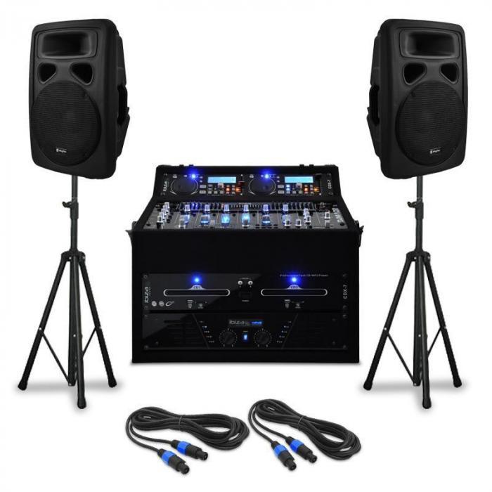 """Zestaw nagłaśniający DJ-ski """"Urban Trip-Hop Beats"""" 250 osób"""