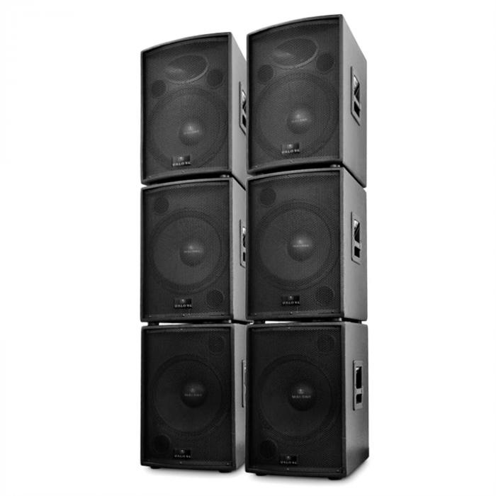 dj pa aktiv boxen set artemis 6 teile 10000w online. Black Bedroom Furniture Sets. Home Design Ideas