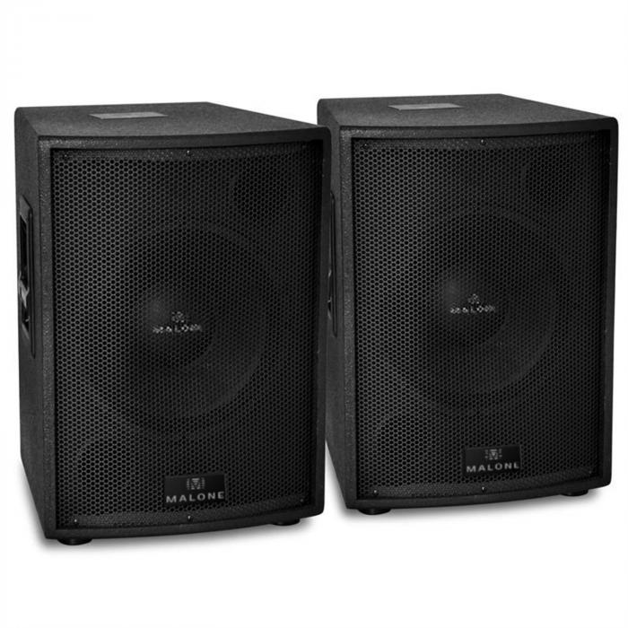 "Pair of Malone 12"" Passive PA Subwoofers 3000W"