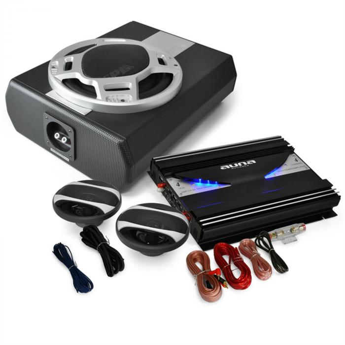 SPL Black Line 340 Set car HiFi 2.1 2800W