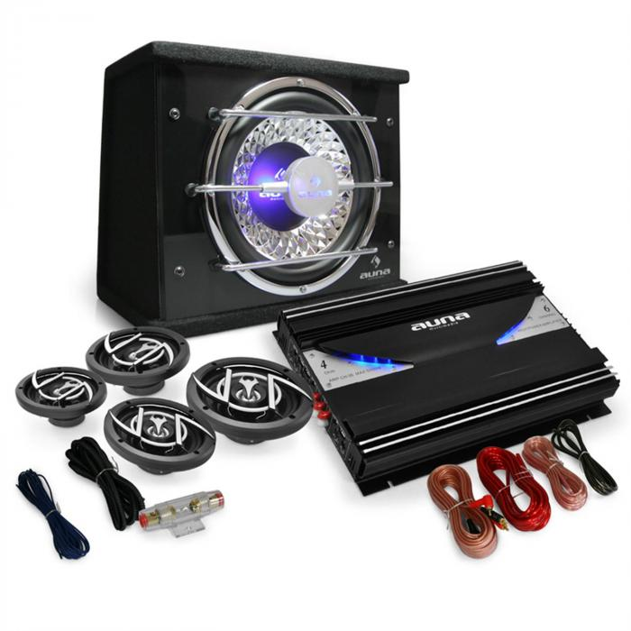 Black Line 540 Set Car HiFi 4.15000W casse 3 vie