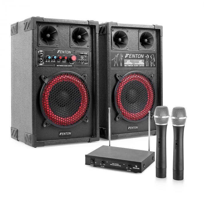 Karaoke System Quot Star Mitte Quot Pa Box Set 400 W 2 Channel
