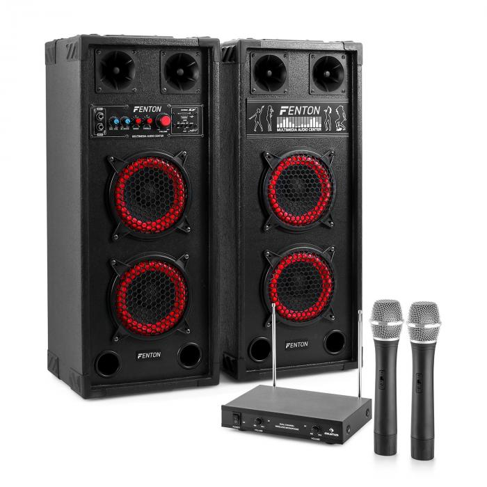 "Karaoke System ""STAR-Wedding"" PA Speakers 800W 