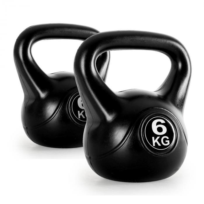 Par de pesas rusas de entrenamiento 2x6kg