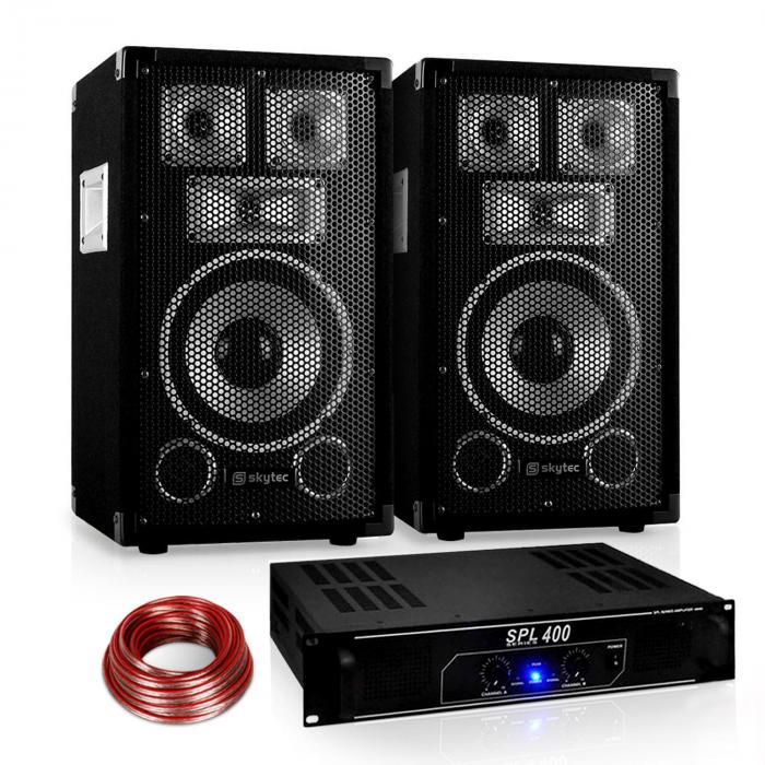 "Set audio Saphir Series ""Warm Up Party"" 8PLUS Ampli 400W"