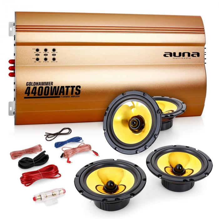 """Golden Race V4"" Set car audio 4.0"