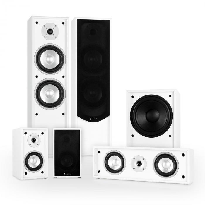 Line 300-WH 5.1 Home Cinema Hi-Fi Speaker System 515W - White