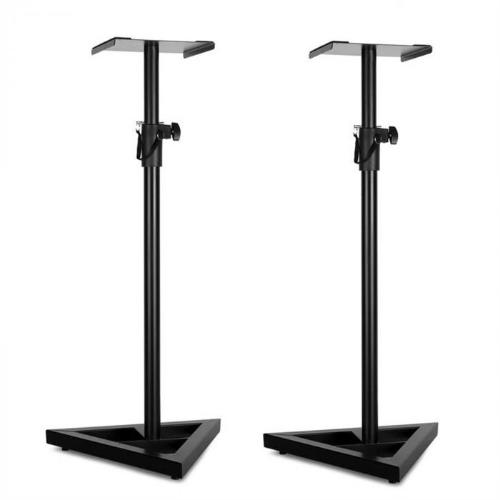 Paar Monitor-Stand 5 Supporti per casse neri