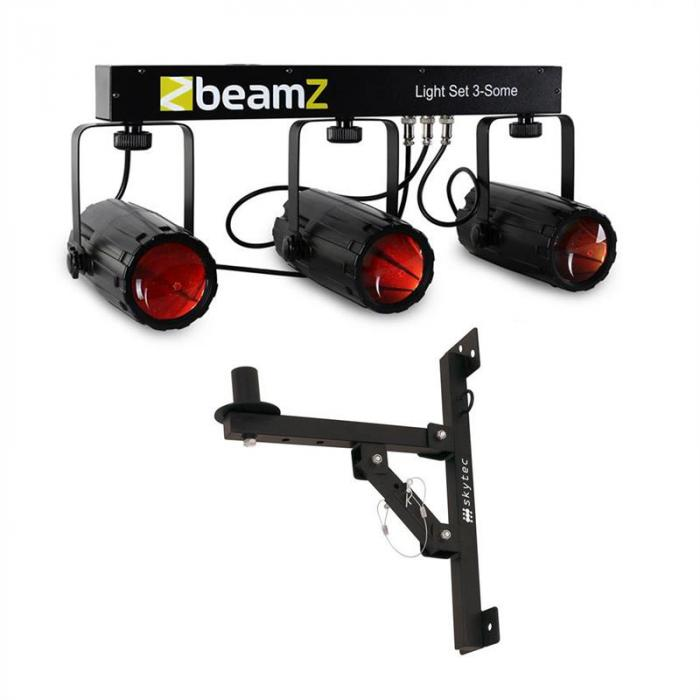 3-Some LED Light Effect Set with Wall Bracket