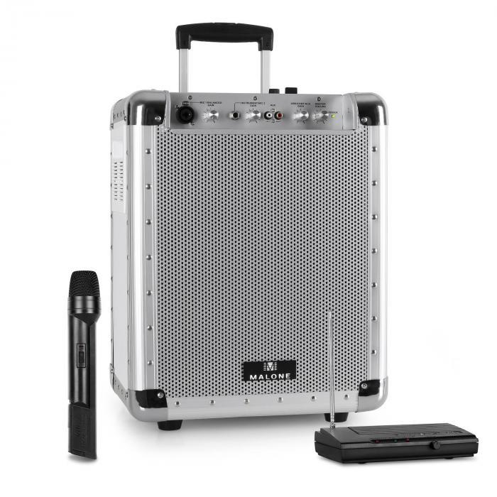 Streetrocker kannettava PA-laite USB SD AUX Bluetooth