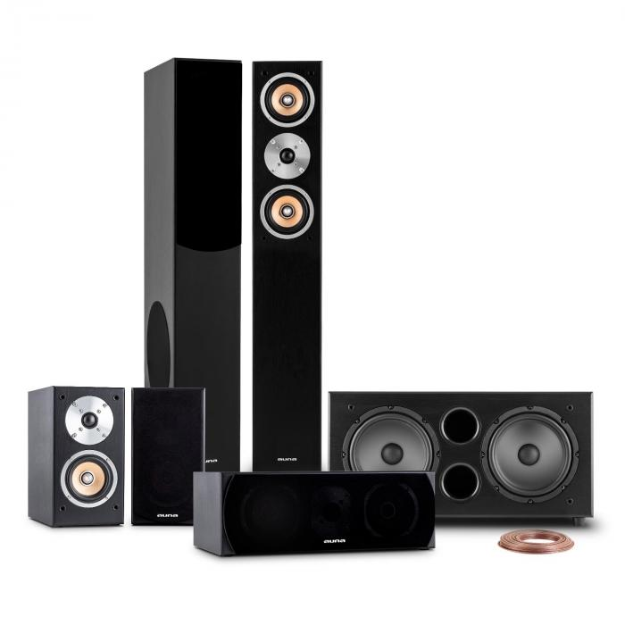 Linie 501 BK 5.1 Home Cinema Sound System 600W RMS