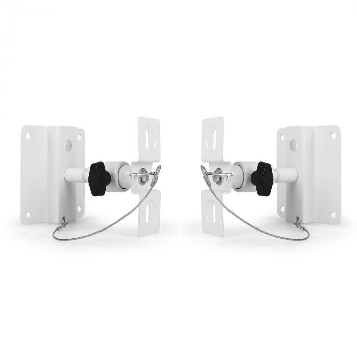 SB-01 Set Supporto Per Casse Universale 10 kg Bianco