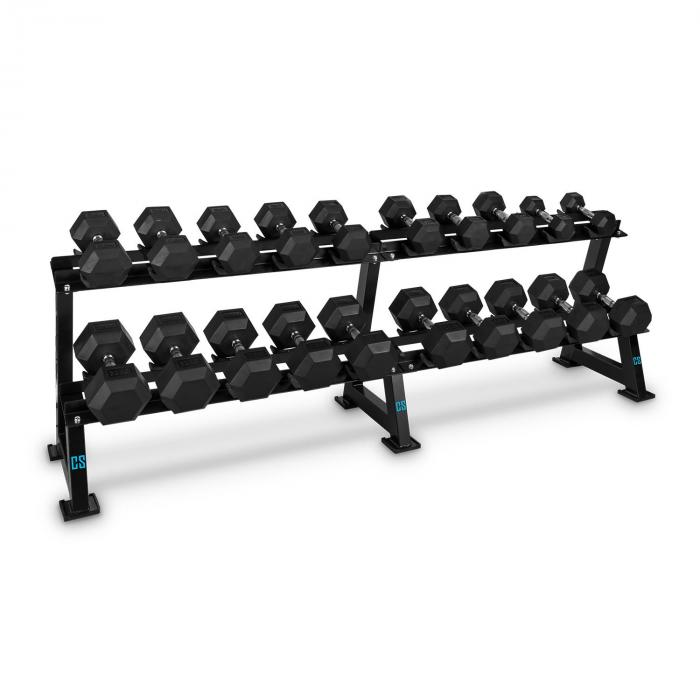 Dumbbell Rack Set 20 Intakes x 10 Dumbbell Pairs