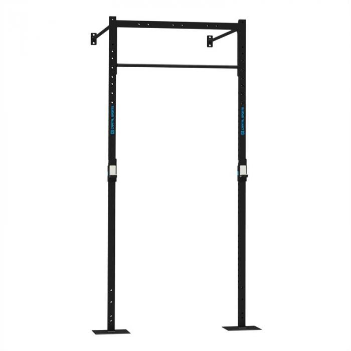 Dominate W Base 120.170 Wall Mount Rack 1 x Pull-Up Station 1 x Squat