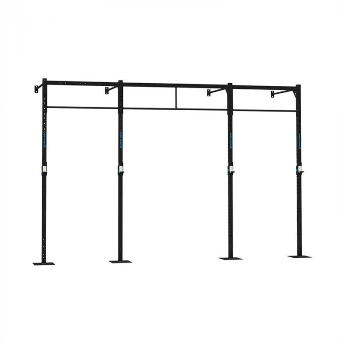 Dominate W 407.110 Wall Mount Rack 4 x PU Station 2 x Squat