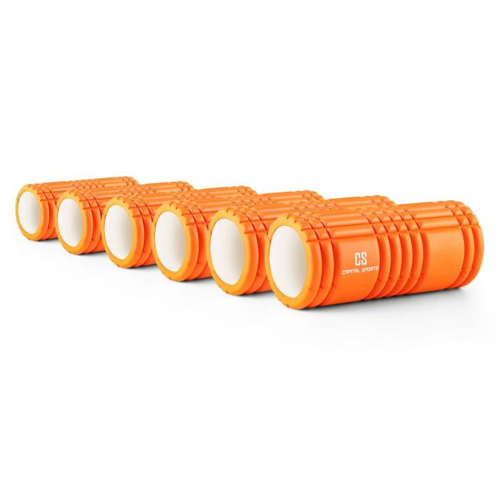 Caprole 1 Foam Roller 6-Piece 33 x 14 cm Orange