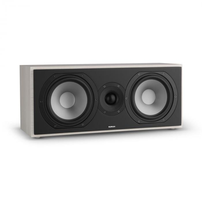 Reference 803 2-way Centre Speaker D'Appolito Grey Oak With Silver Cover