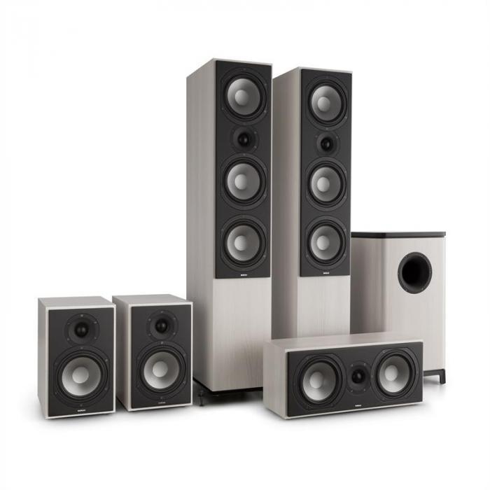 Reference 851 5.1-Soundsystem grå ek