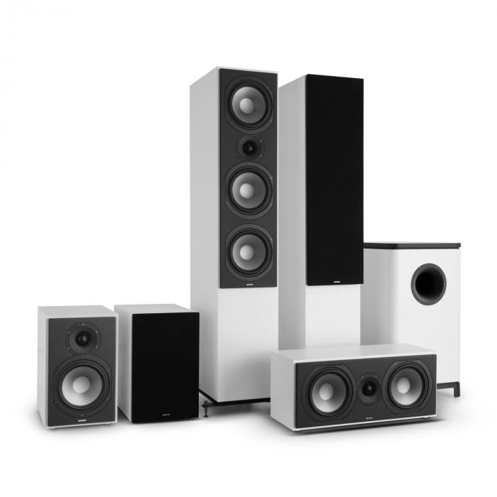 Reference 851 5.1-Soundsystem Bianco inc. cover nera