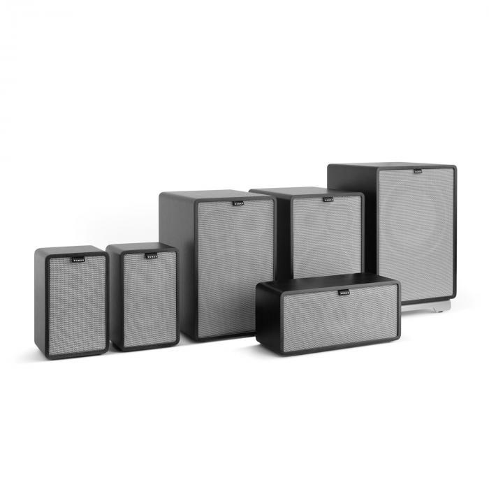 RETROSPECTIVE 1978 MKII 5.1 Soundsystem nero incl. Cover grigio