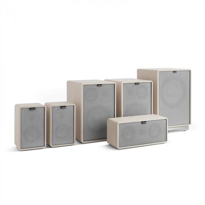 Retrospective 1978 MKII 5.1 Soundsystem weiß inkl. Cover grau