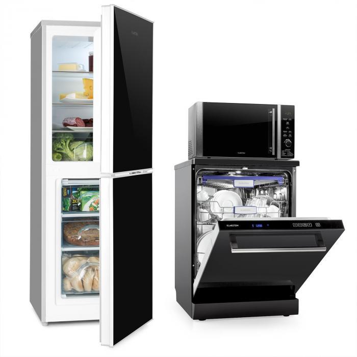 Luminance setti pakastin-jääkaappiyhdistelmä mikroaaltouuni astianpesukone