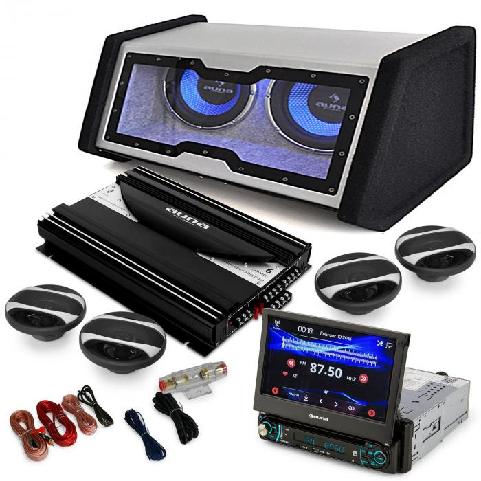 "4.1 Car Hifi Set ""MovieMedia 600"""