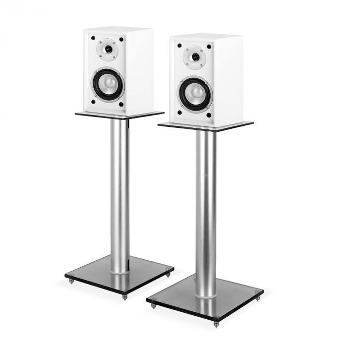4-piece Hifi Set | Shelf Speaker Pair + Stands