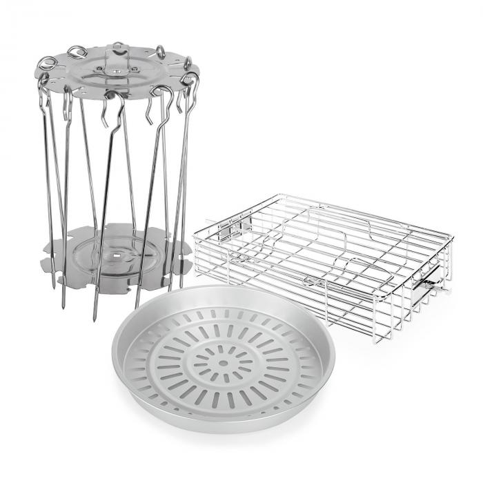 VitAir Zubehör-Set 3-teilig Edelstahl Aluminium...