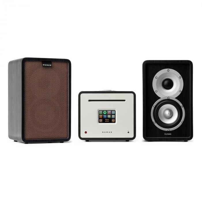 Unison Retrospective 1979S Edition – stereolaitteisto vahvistin kaiuttimet + suojus