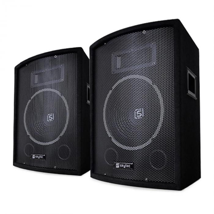 sl10 passiv box lautsprecher 2er set 10 25 cm woofer. Black Bedroom Furniture Sets. Home Design Ideas