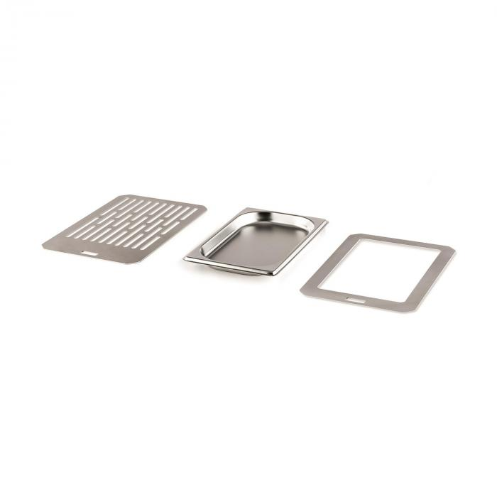 Accessory Set Steakreaktor 2.0 Grill Grate, Catering Container and Tray Holder