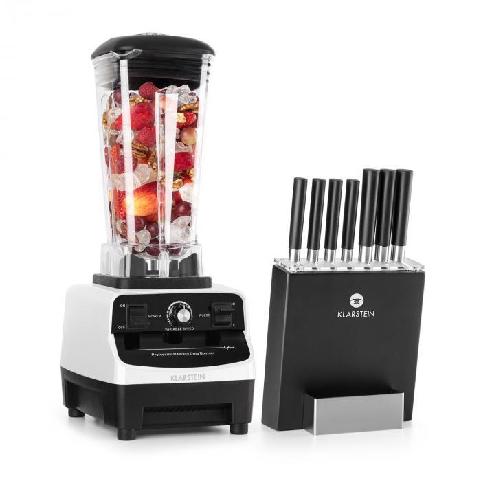 Herakles 3G Kitano Power-Mixer -veitsisetti 1500W BPA-vapaa 2l / 7 veistä
