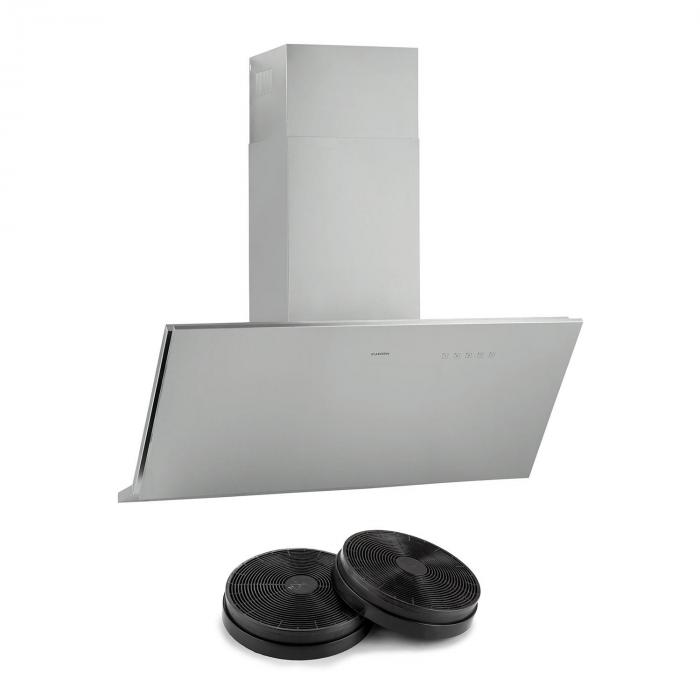 Braveheart Cooker Extractor Hood Recirculation Set 610 m³ / h Activated Carbon Filter