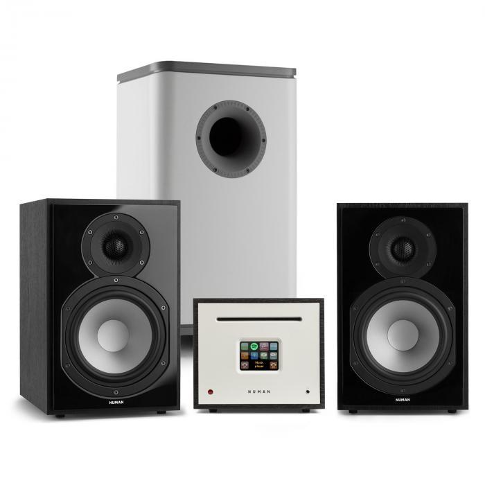 Unison Reference 802 Edition Impianto Stereo Amplificatore Casse nero/grigio