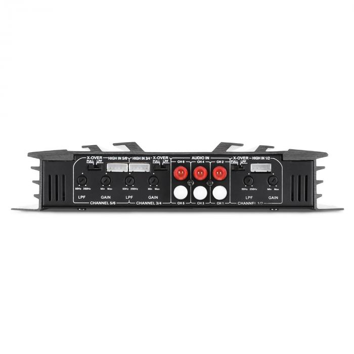 CS-Comp-8 Set Hi-Fi Car Amplificatore 6 Canali Altoparlanti