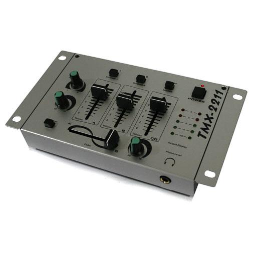 """Equipo DJ-PA """"N.Y. Fireblade"""" amplificador altavoces mesa"""
