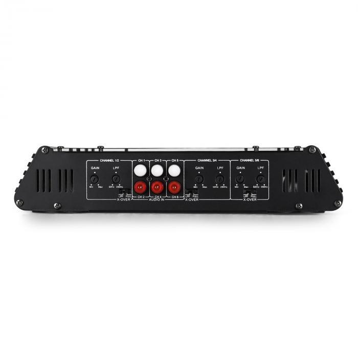 Car-HiFi-Komplett-Set | 3-vägs högtalare Set | 6-Kanal Bil-Slutsteg