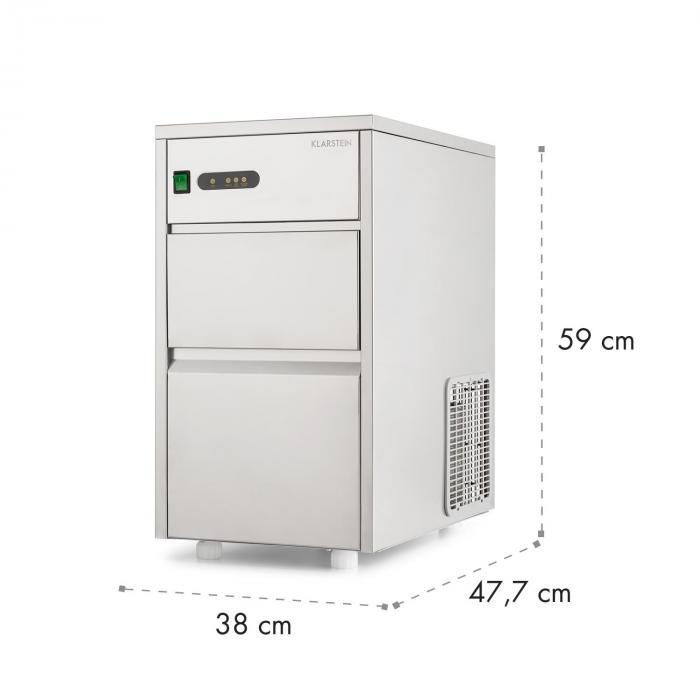 Macchina per cubetti ghiaccio 240W 20Kg/giorno