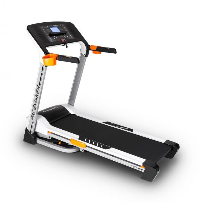 Pacemaker X20 Tapis Roulant Professionale 4hp 16km/h Argento