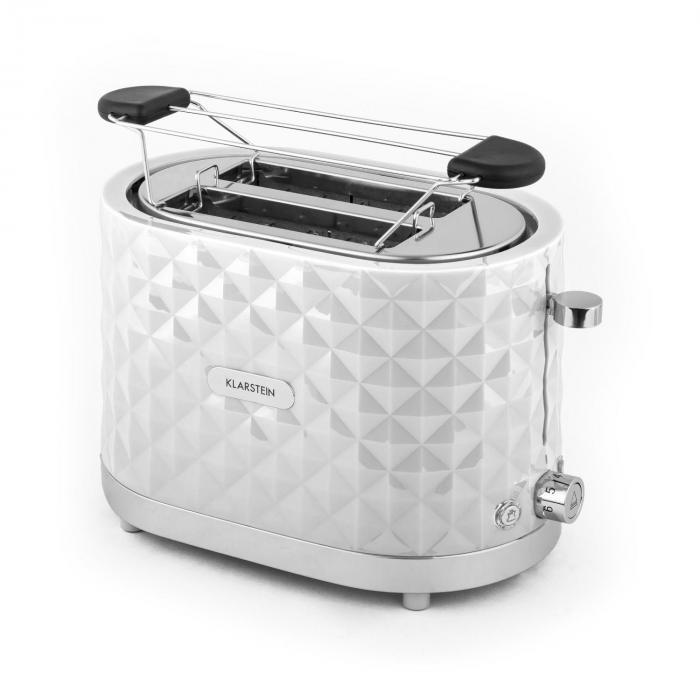 Granada Bianca Breakfast Set2000W Kettle | 1000W Toaster | white